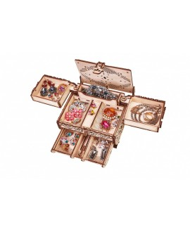 "Wooden 3D puzzle ""Decorated box"""