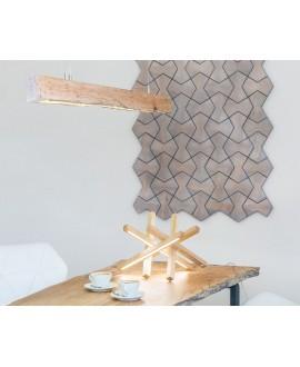 Wooden chandelier DRUID