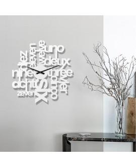 Wall clock Moku Cosmopolite