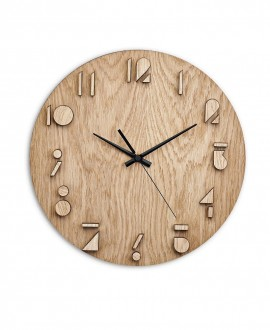 Wall clock Moku Katori