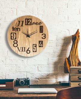 Wall clock Moku Kyoto