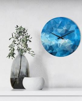 """Настінний годинник """"Абстракт Синій"""""""