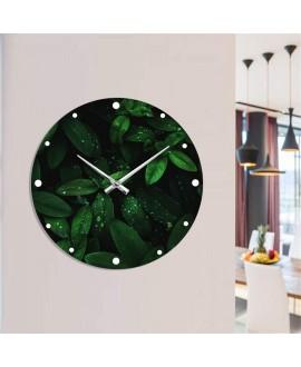 "Wall clock ""Leaves"""
