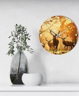 """Wall clock """"Deers"""""""