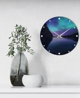 "Wall clock ""Northern Lights"""