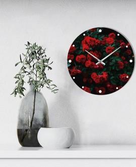 """Настінний годинник """"Троянди"""""""
