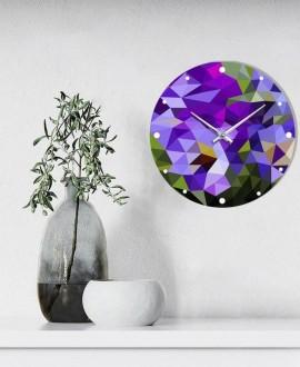 """Wall clock """"Abstract"""""""