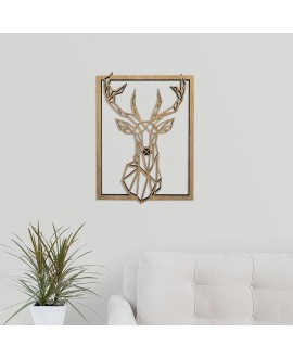 "Wooden picture ""Deer"""