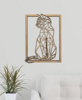 """Дерев'яна картина """"Кішка"""""""