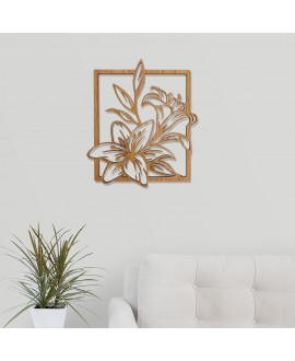 """Wooden picture """"Lily"""""""