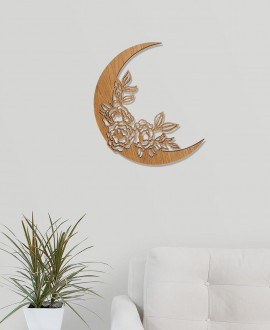 "Wooden picture ""Moon"""