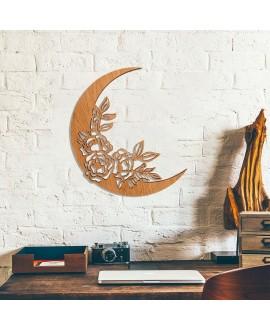 """Дерев'яна картина """"Місяць"""""""