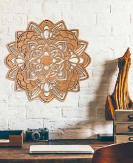 "Wooden picture ""Mandala"""
