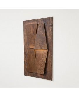 Настінна дерев'яна панель