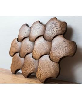 Дерев'яна стінова панель Portland