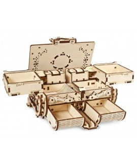 """Wooden 3D puzzle """"Amber box"""""""