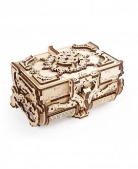 """Wooden 3D puzzle """"Antique box"""""""