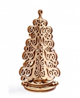 """Wooden 3D puzzle """"Christmas Tree"""""""