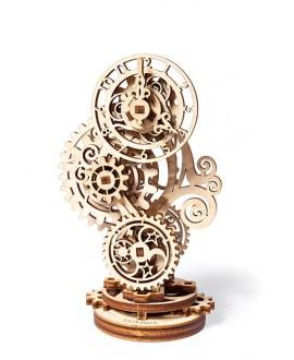"Wooden 3D puzzle ""Steampunk-clock"""