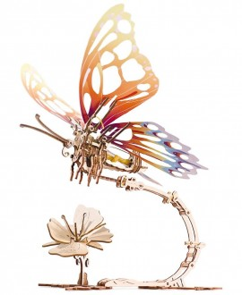 """Wooden 3D puzzle """"Butterfly"""""""