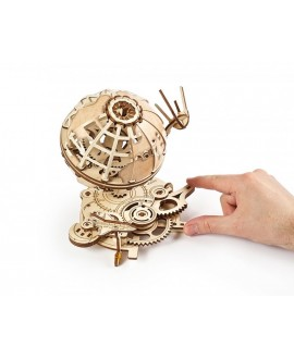 """Wooden 3D puzzle """"Globe"""" Ugears"""