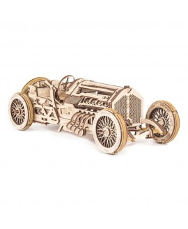"""Wooden 3D puzzle """"U-9 Grand Prix Car"""""""