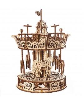 "Wooden 3D puzzle ""Carousel"""