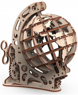 """Дерев'яний 3D пазл """"Глобус S"""" Mr.Playwood"""