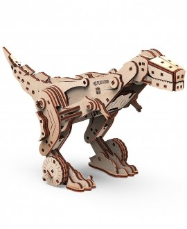 """Wooden 3D puzzle """"Dinocar"""""""