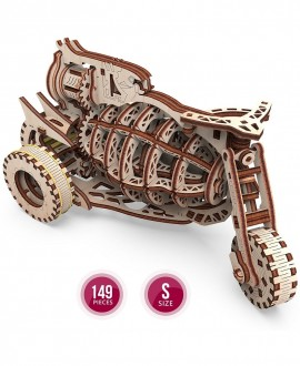 """Wooden 3D puzzle """"Starbike"""""""