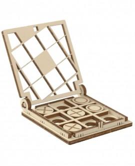 """Wooden 3D puzzle """"Tic-Tac-Toe 1"""""""