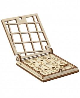 "Wooden 3D puzzle ""Fifteen"""