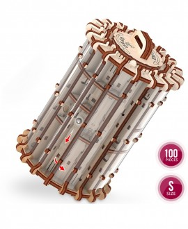 """Wooden 3D puzzle Labyrinth """"Scroll&hole"""""""