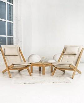 Set of furniture for rest