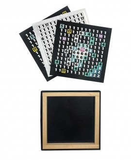 "Wooden mosaic ""Wooden pixel 1 Cosmos"""