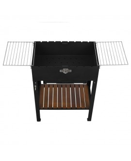 Stationary brazier with 8 skewers