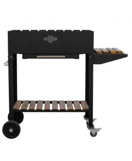 Stationary brazier Comfort with 8 skewers