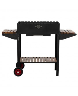 Stationary brazier with 12 skewers