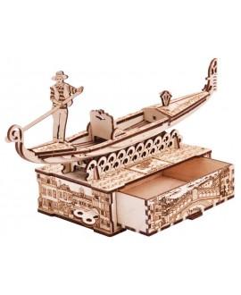 "Wooden 3D puzzle ""Gondola boat"""