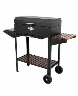 Brazier grill with 12 skewers