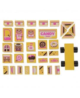 """Дерев'яний конструктор """"Candy shop"""""""