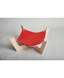 Hammock with felt bed
