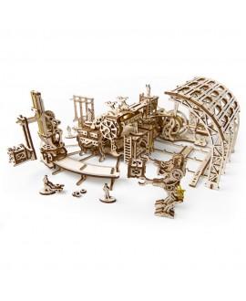 """Дерев'яний 3D пазл """"Фабрика роботів"""""""