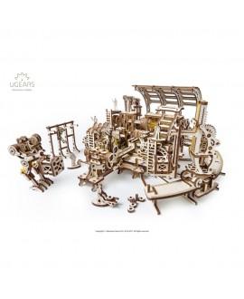 """Wooden 3D puzzle """"Robot Factory"""""""
