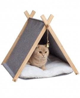 Палатка для кота из войлока