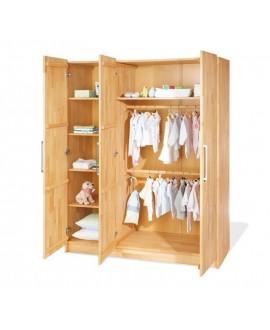 Children's wardrobe Whity 3-door