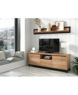 Living room set Frankfurt TV II beech