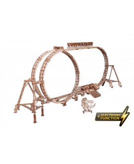 """Wooden 3D puzzle """"Roller coaster"""""""