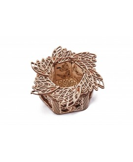 """Wooden 3D puzzle """"Mystery Flower"""""""