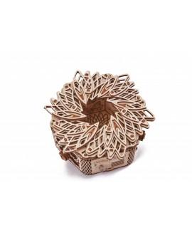"""Деревянный 3D пазл """"Таинственный цветок"""""""